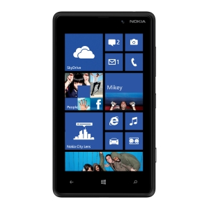 Lumia 820_Black_front