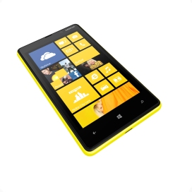 Lumia 820_yellow_angled